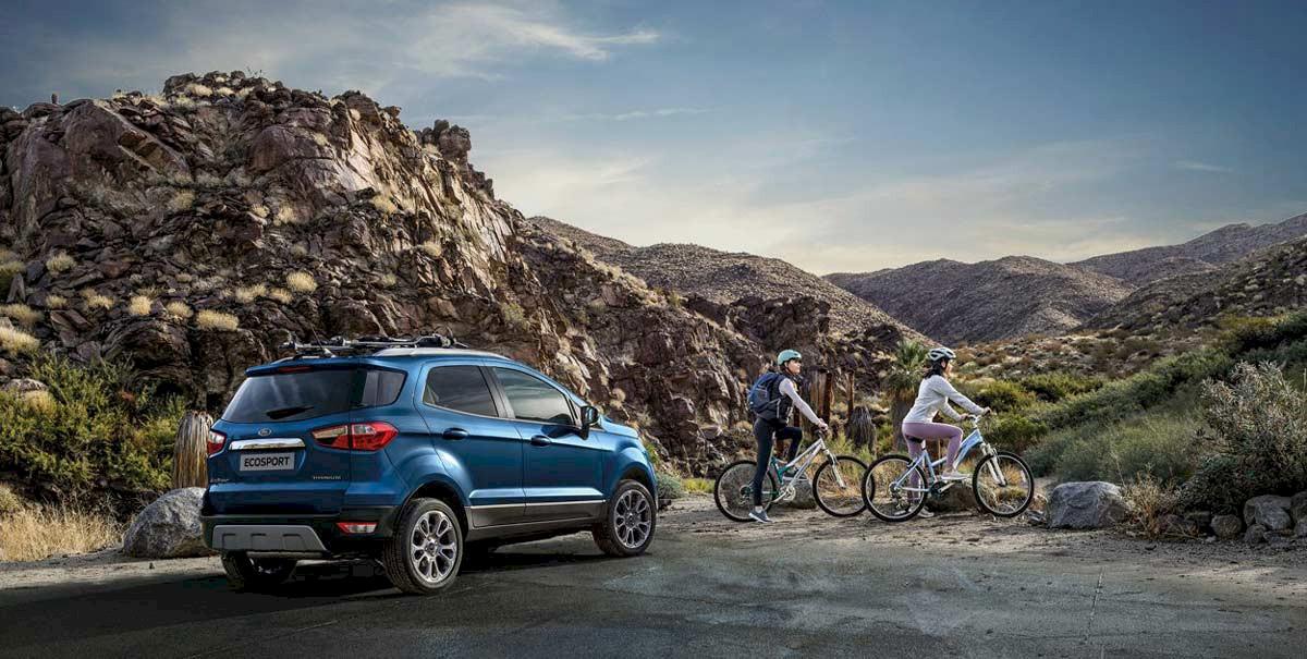 Hiện tại, bản nâng cấp mới nhất của Ford EcoSport là bản Facelift
