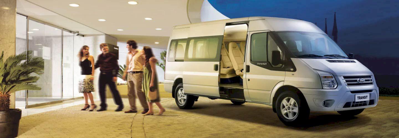 Ford Transit 2021là mẫu xe thương mại lý tưởng cho việc vận chuyển hành khách