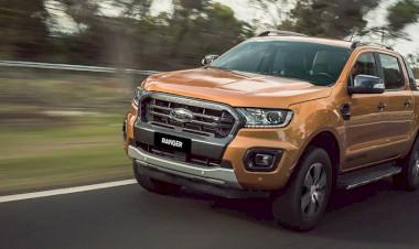 Ford Ranger là chiếc xe bán tải với khả năng toàn diện trên nhiều địa hình