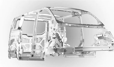 Khung xe bằng thép boron siêu cứng