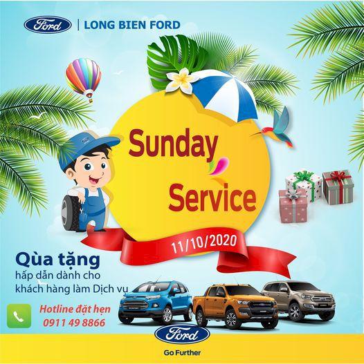 Sunday Service Ngày 11/10/2020 , 18/10/2020, 25/10/2020 tháng 10 năm 2020
