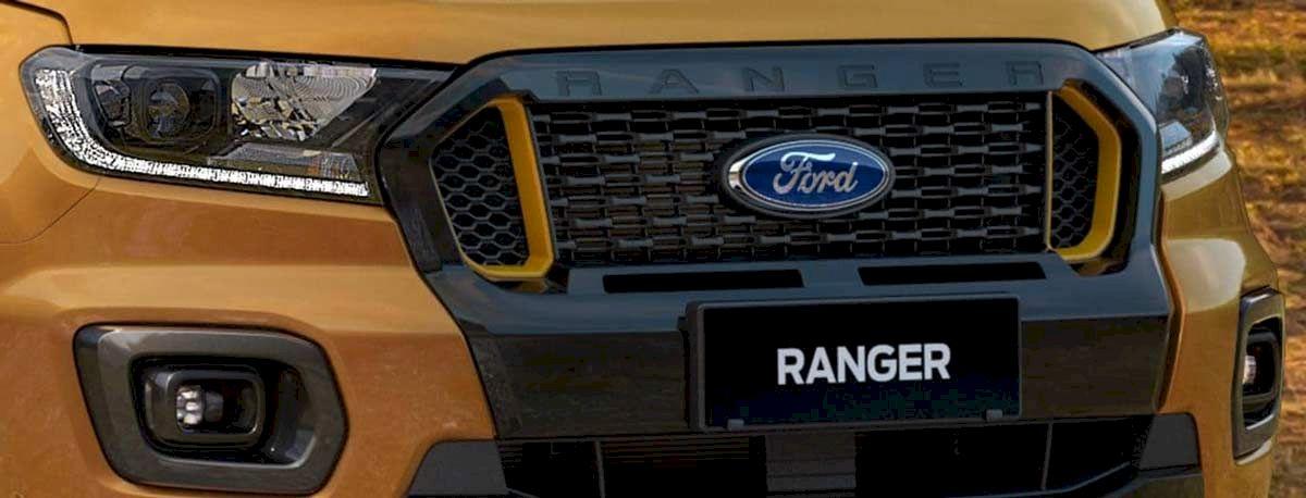 Ford Ranger phần đầu xe