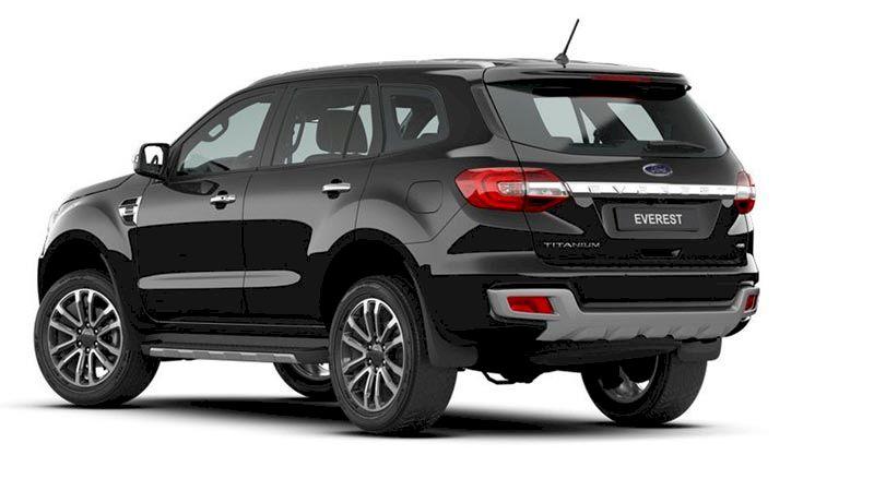 Phần đuôi Ford Everest 2021