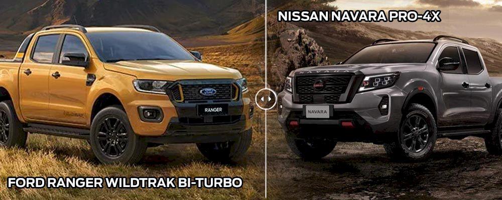 So sánh, đánh giá Ford Ranger 2021 và Nissan Navara 2021