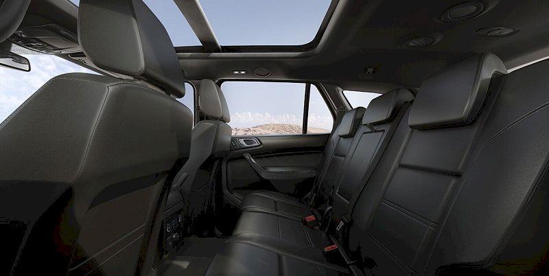Ghế ngồi Ford Everest 2021
