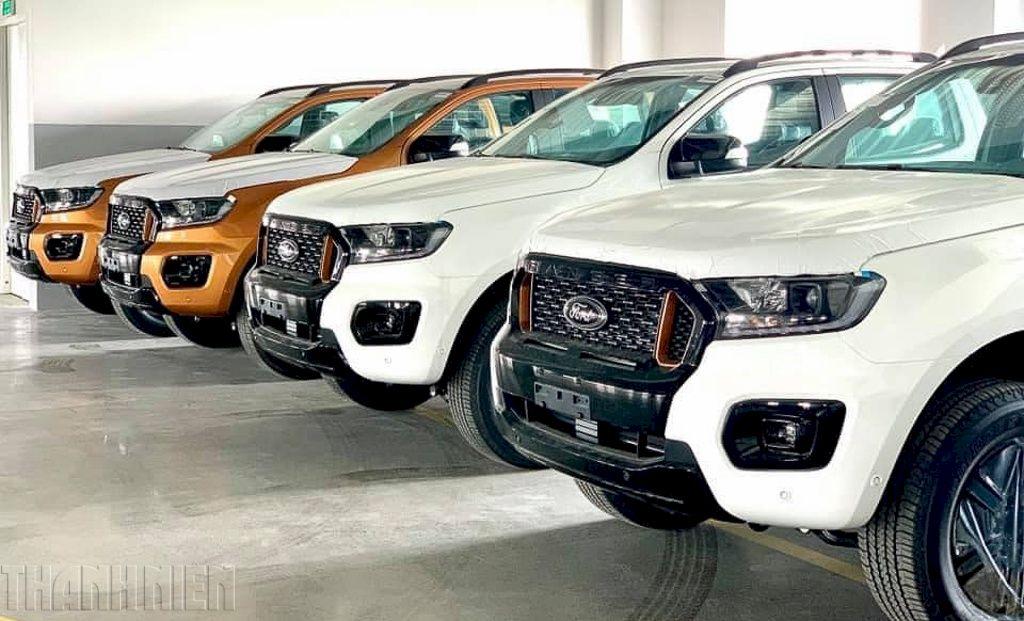 Ford Ranger 2021 bản lắp ráp tại Việt Nam có ít nhất 5 phiên bản