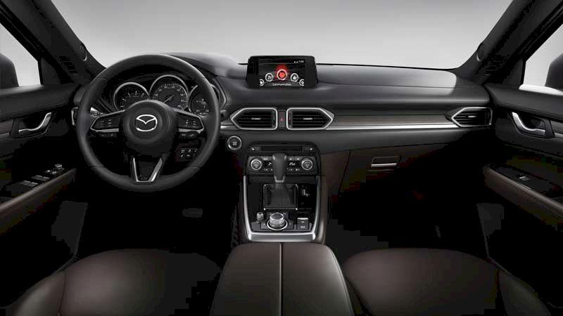 Đánh giá, so sánh Nội thất Ford Everest 2021 và Mazda CX-8