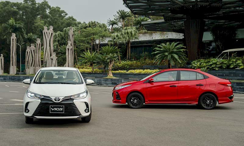 Toyota Vios đã giành lại ngôi vương phân khúc từ tay Hyundai Accent với doanh số 1.789