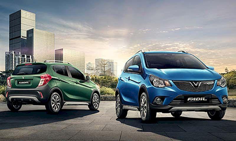 VinFast Fadil dẫn đầu phân khúc xe hạng A với doanh số bán ra là 1.868 xe