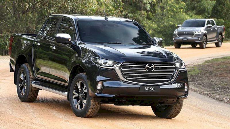 Mazda BT-50 2021 Giá dự kiến từ 659 triệu, động cơ mới, đáp trả Ford Ranger