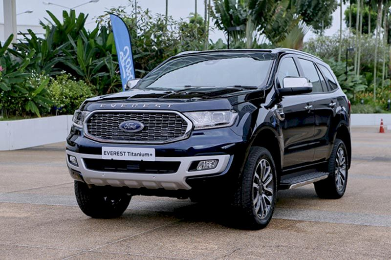Thiết kế xe Ford Everest 2021