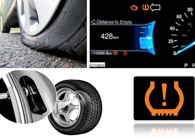 Giảm áp suất lốp xe