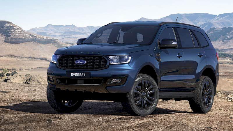 Ford Everest được biết đến là chiếc SUV với thiết kế cơ bắp đậm chất Mỹ