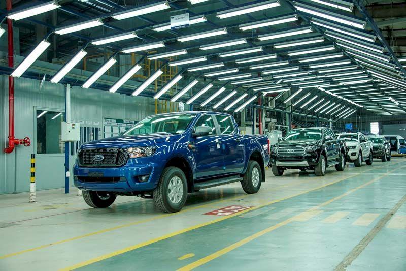 Ford Ranger: 1.310 xe